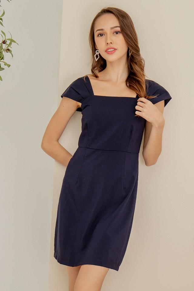 Rochelle Dress Navy