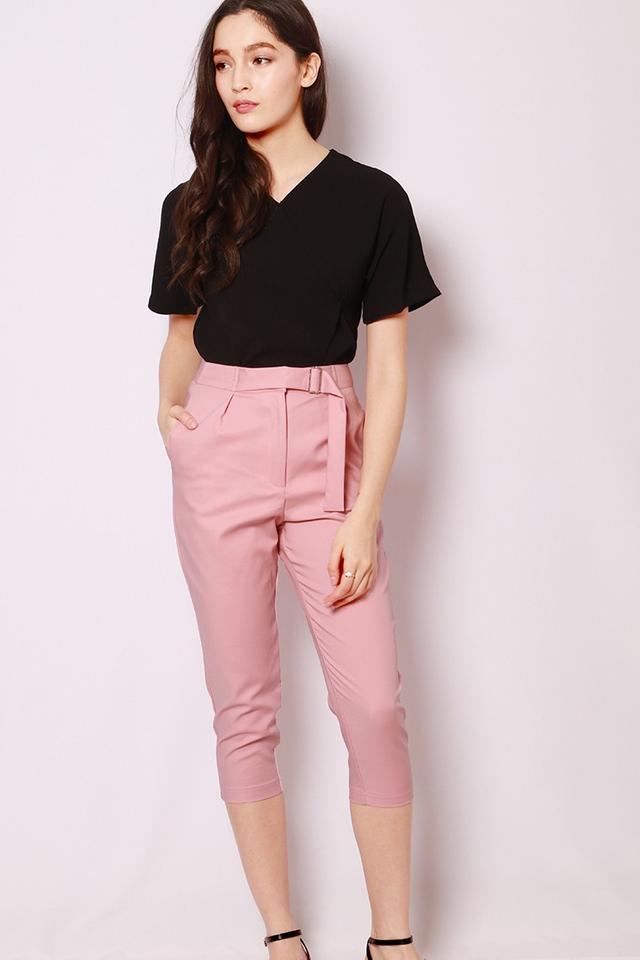 SSD Maitane Cropped Pants Pink