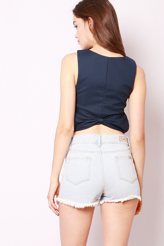 SSD Nellie Bow Top Navy