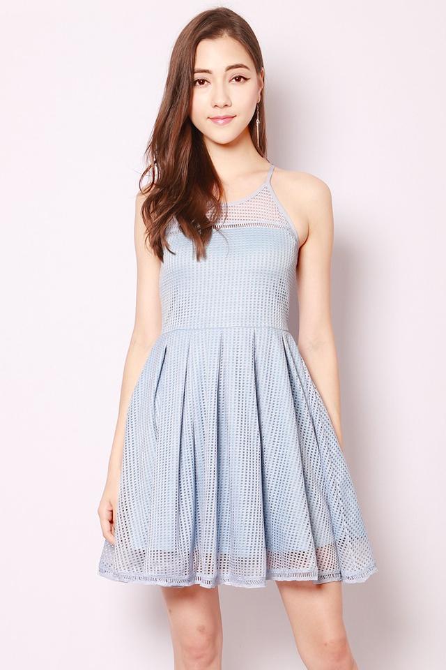 SSD Aiza Dress Powder Blue
