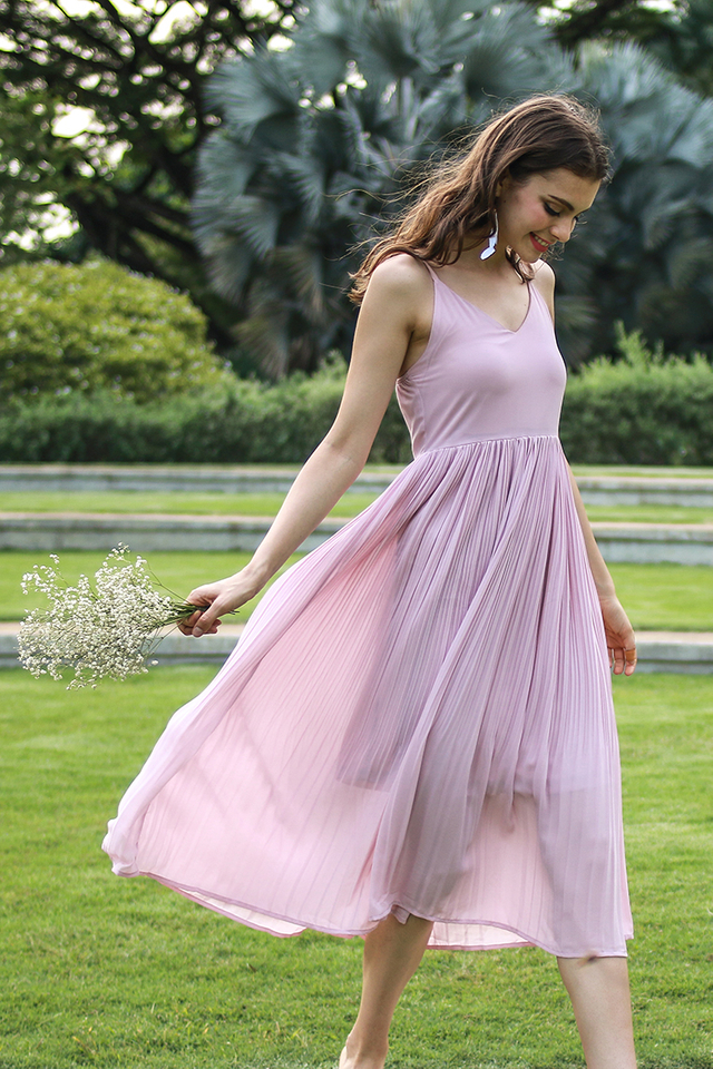 Whitney Dress Pink