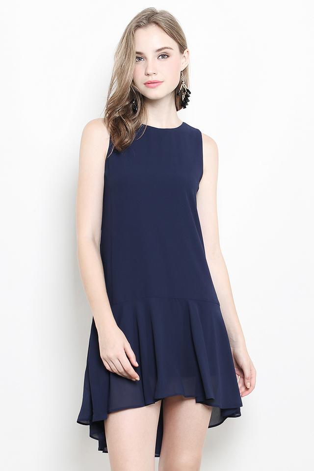 Emmie Dress Navy