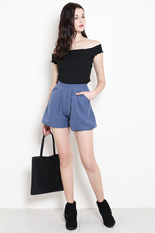 Tayler Shorts Ash Blue