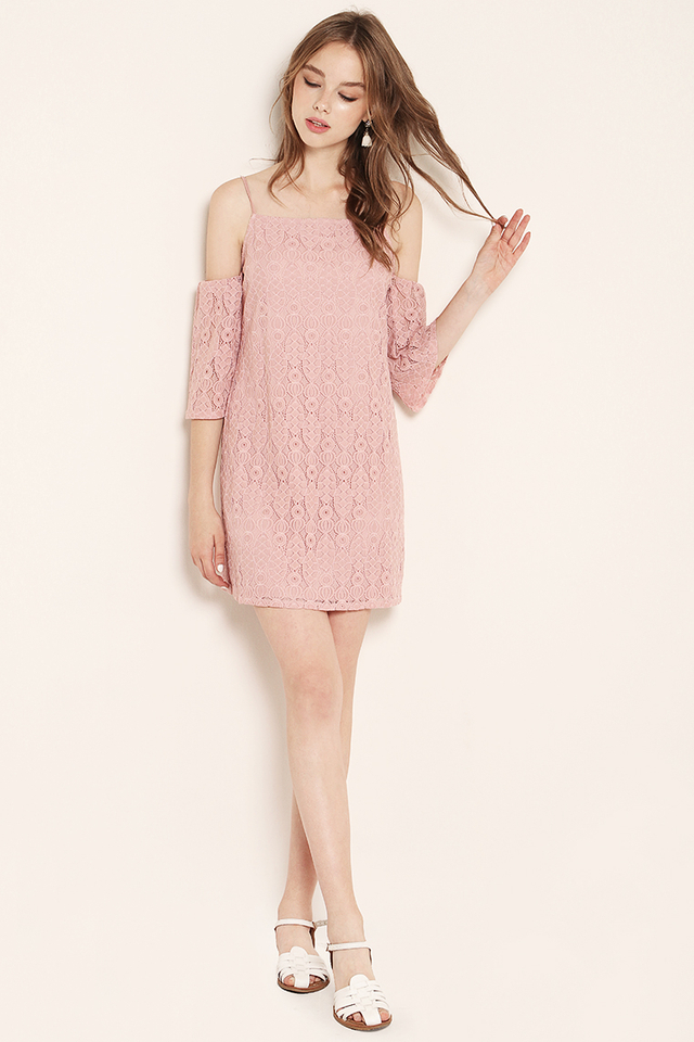 Marley Lace Dress Pink