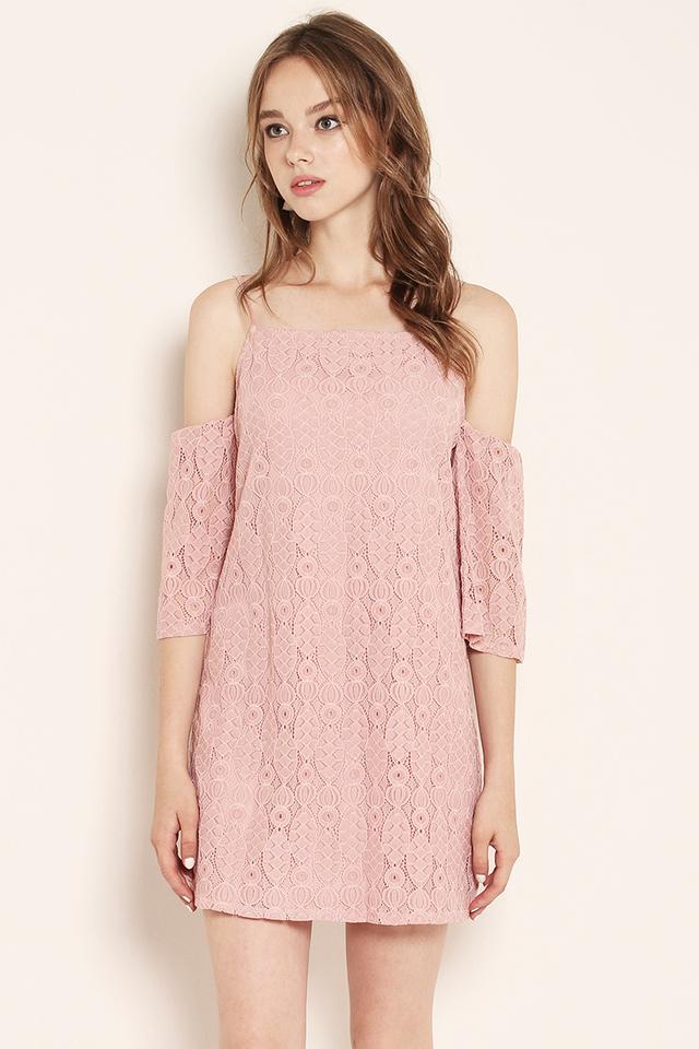 Marley Lace Dress Pink