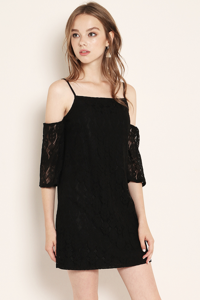 Marley Lace Dress Black