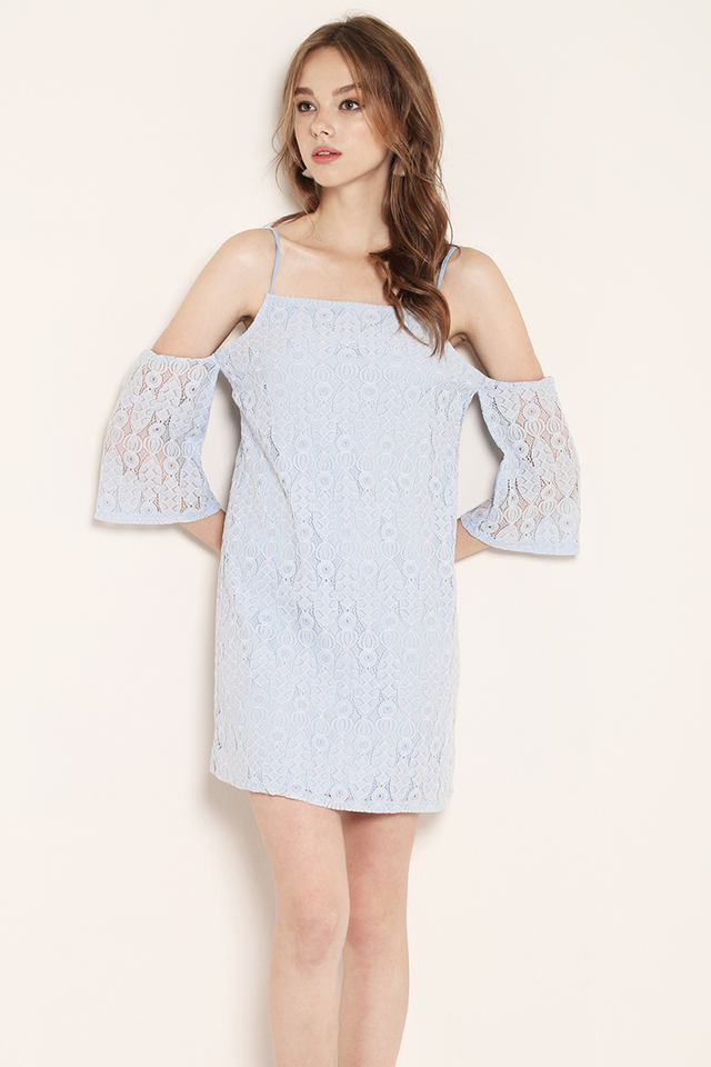 Marley Lace Dress Blue