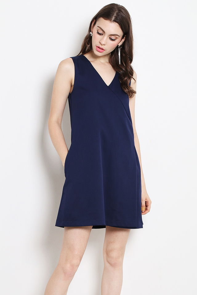 Morine Dress Navy