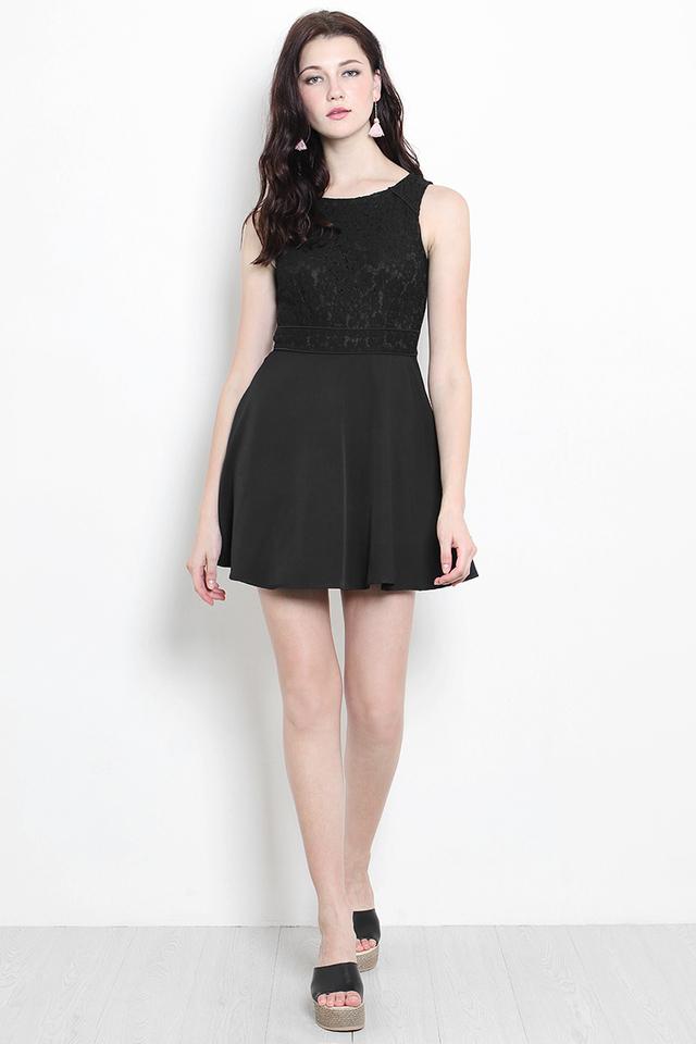 Kadence Lace Dress Black