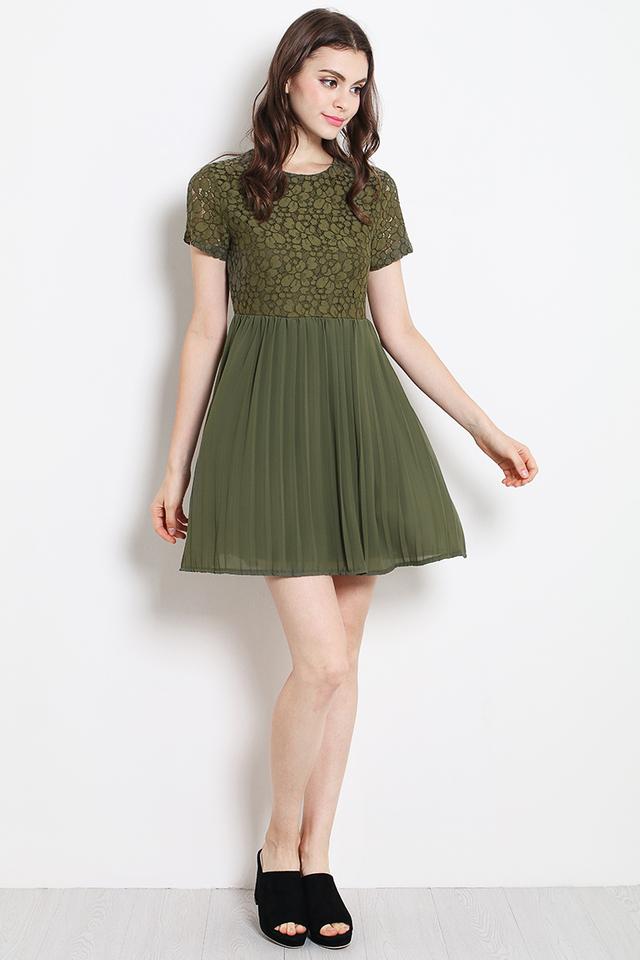 Arden Dress Olive