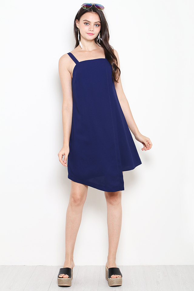Zherlin Dress Navy