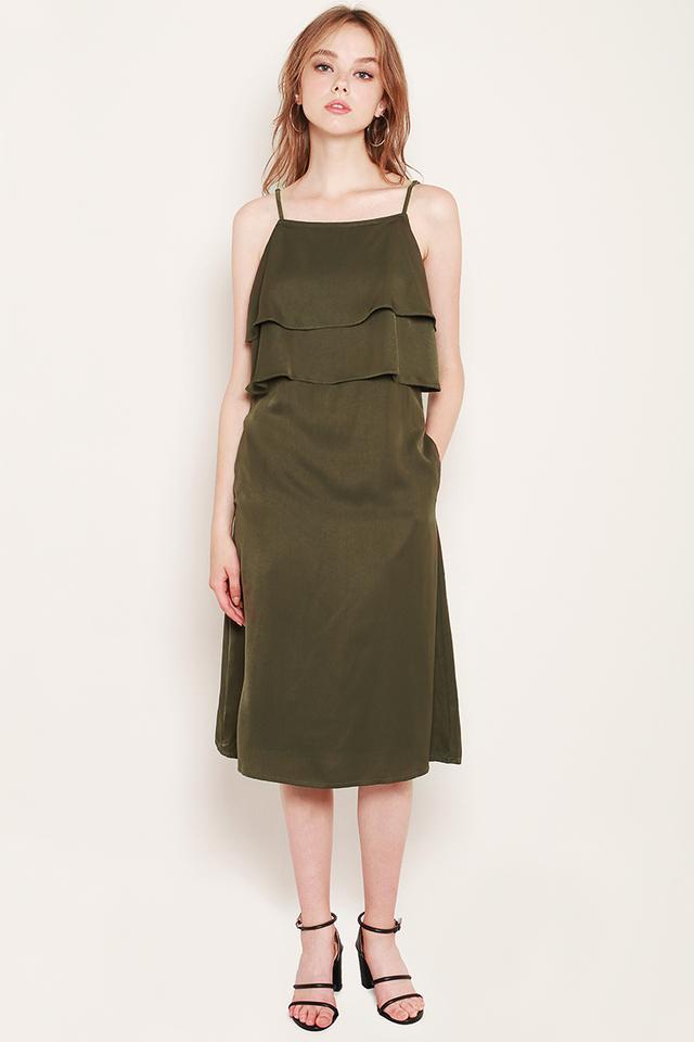 Chava Dress Olive
