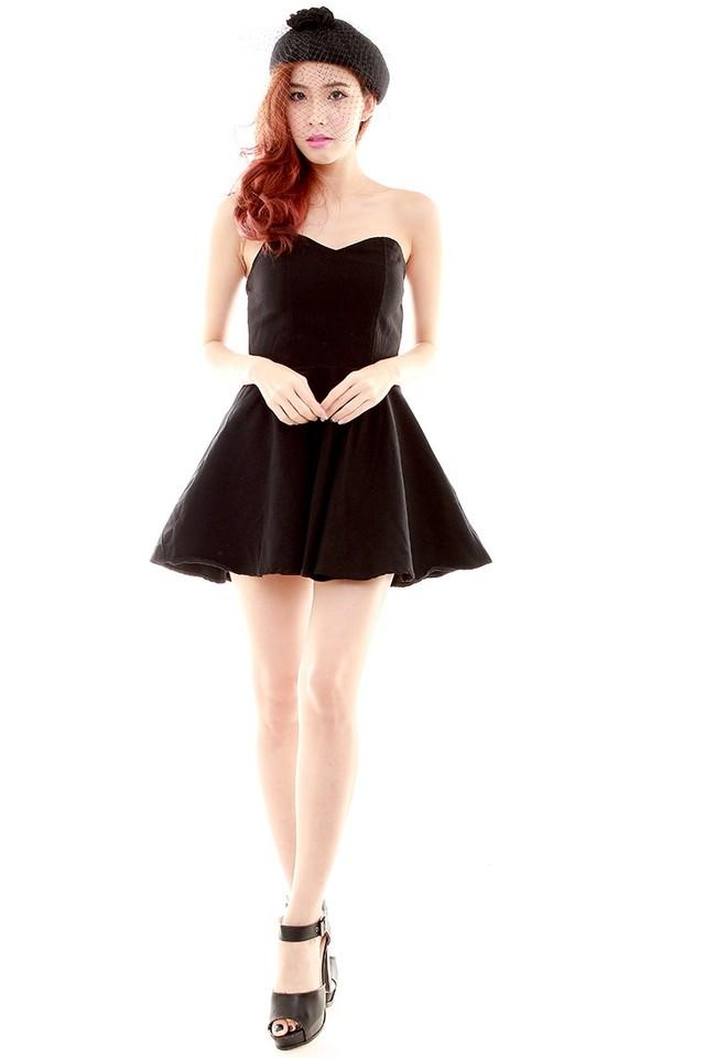 Chasey Tube Dress (Black)