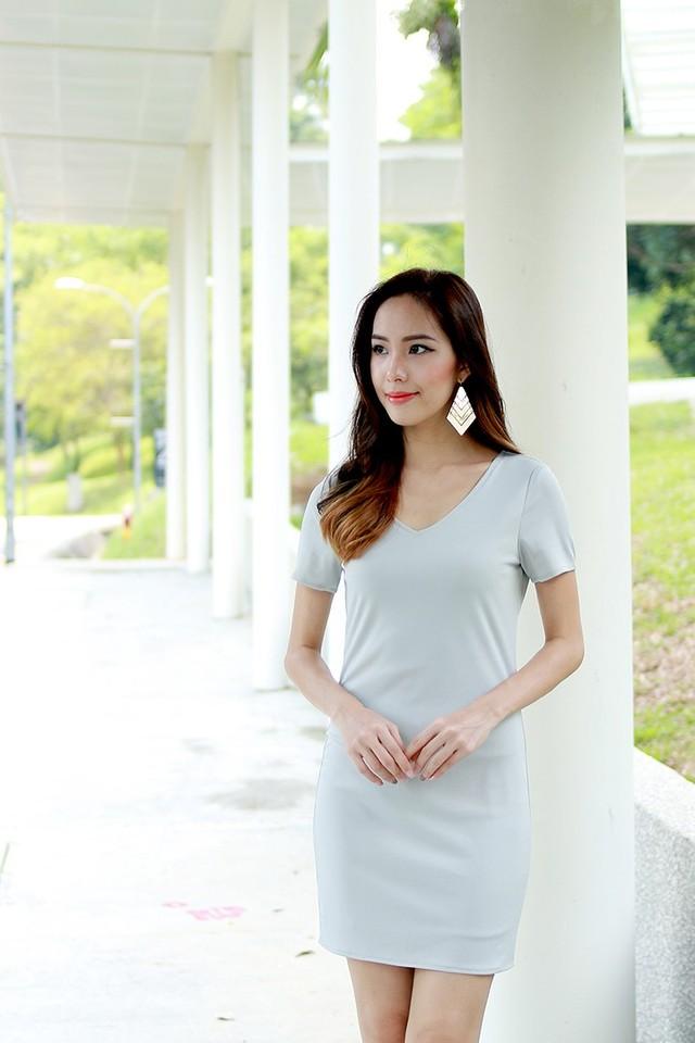 SSD Jaelyn Zipper Dress (Grey)