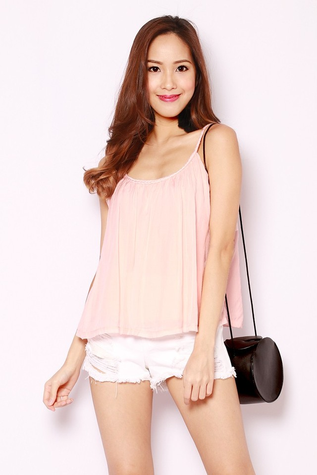 SSD Swara Braided Top Pink