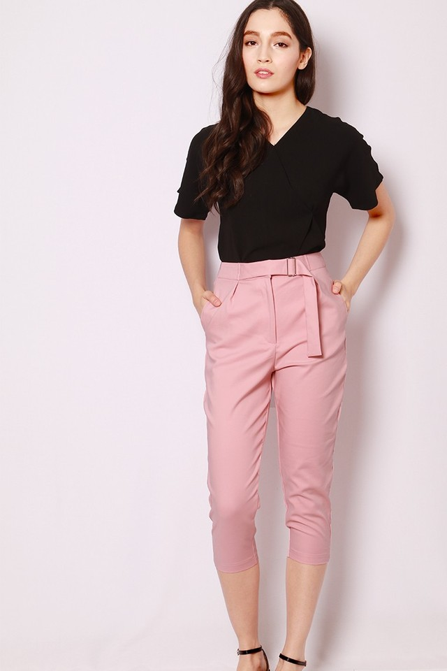 SSD Maitane Cropped Pants Pink