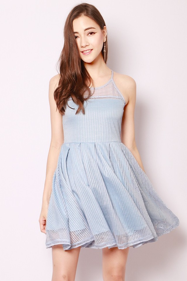 SSD Aiza Dress Powder Blue