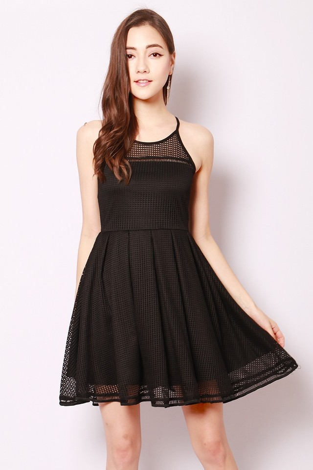 SSD Aiza Dress Black