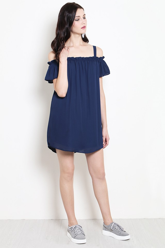 Ruth Dress Navy