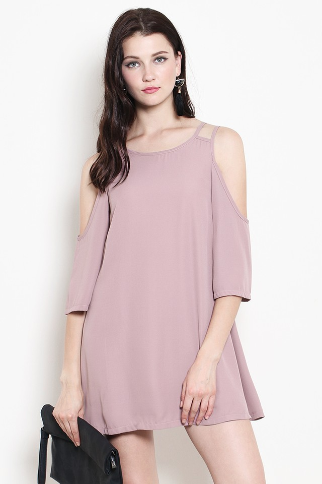 Brina Dress Dusty Pink