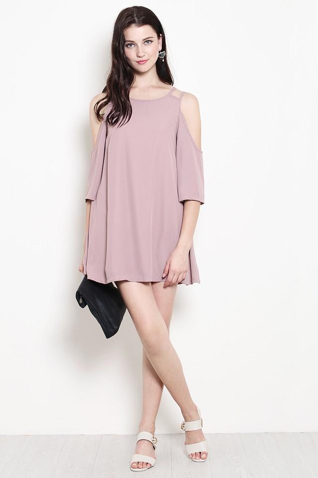 Brina Dress Dusty Pink