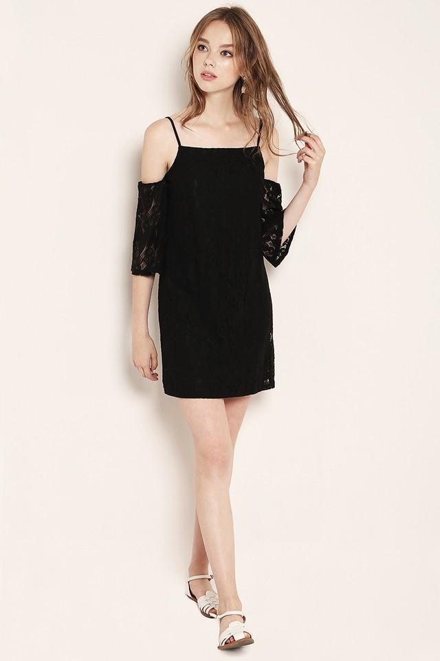 Marley Lace Dress Black