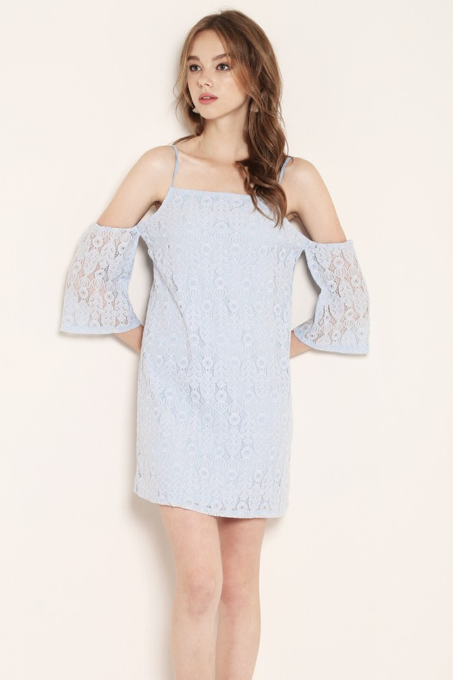 Marley Lace Dress Blue