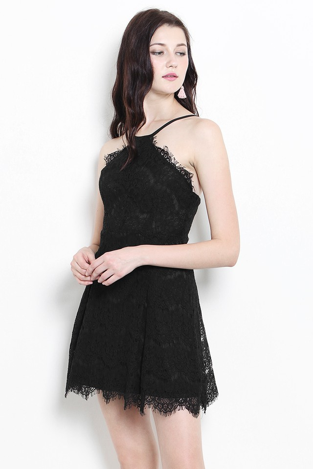 Keri Lace Dress Black