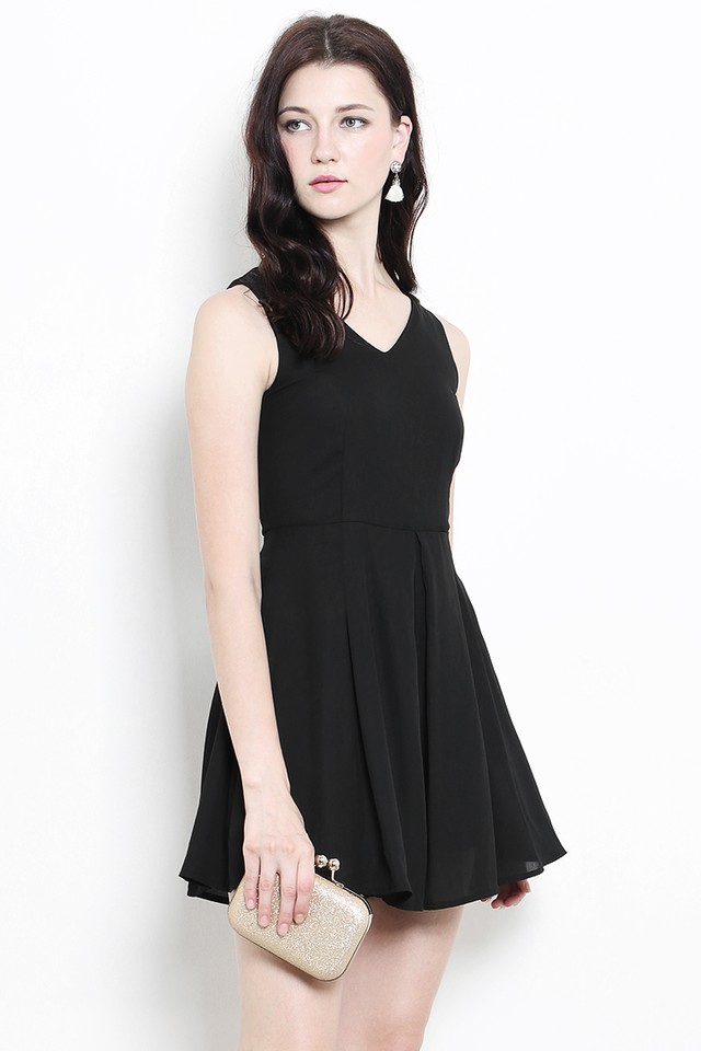 Korina Playsuit Black