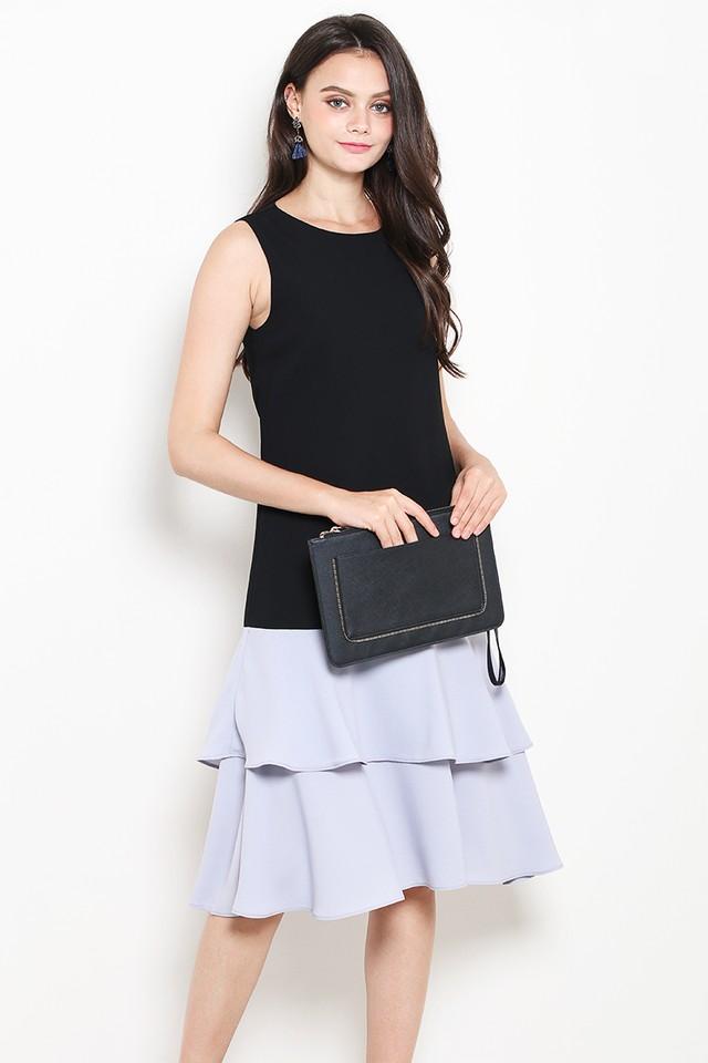 Kira Dress Black/Grey