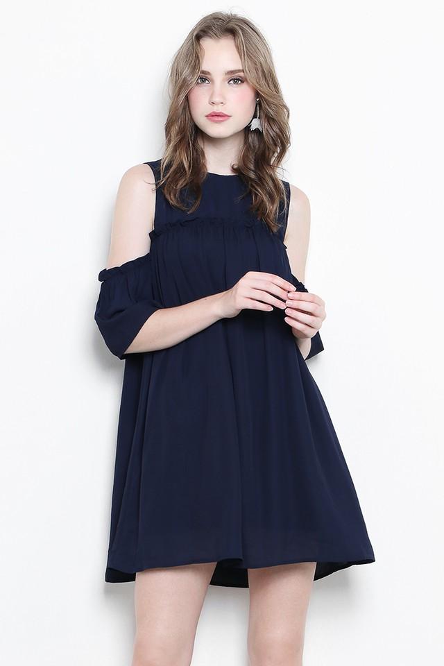 Kelis Dress Navy