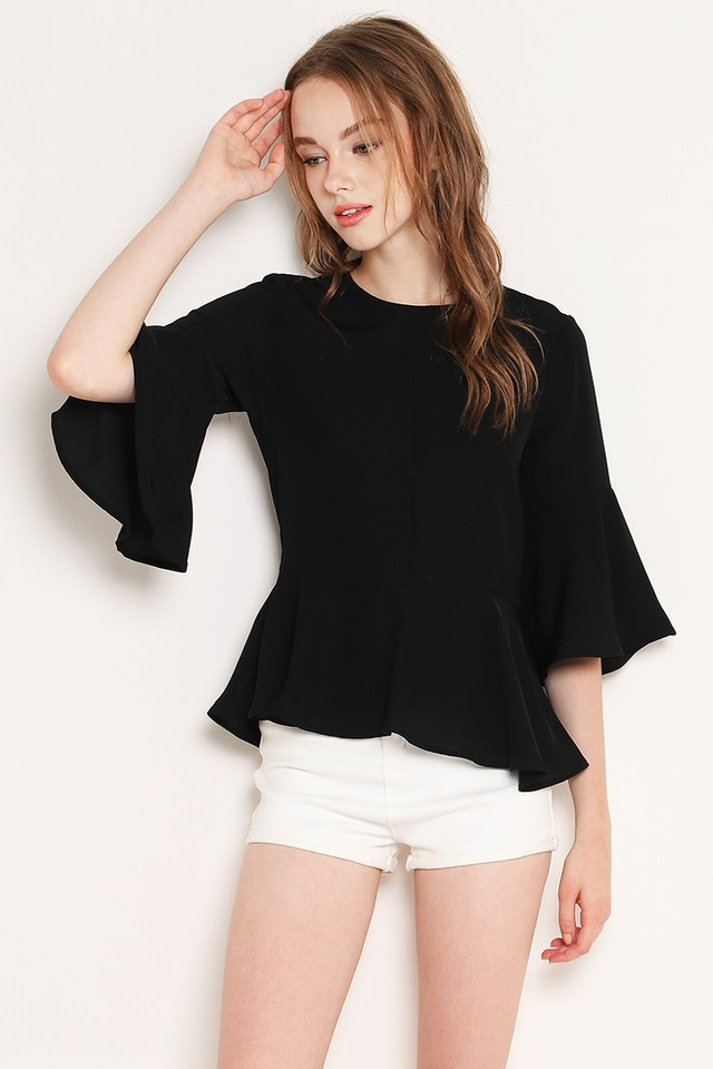 Hensely Top Black