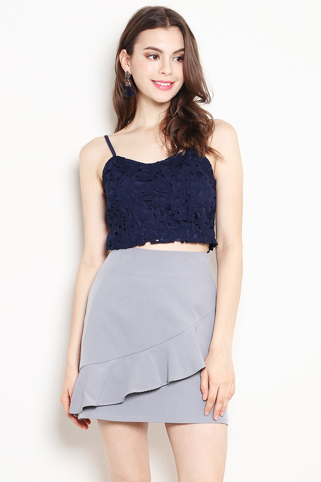 Sanda Skirt Grey