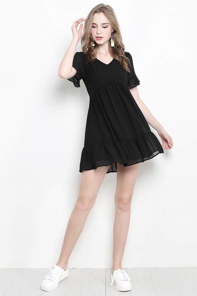 Xenia Dress Black
