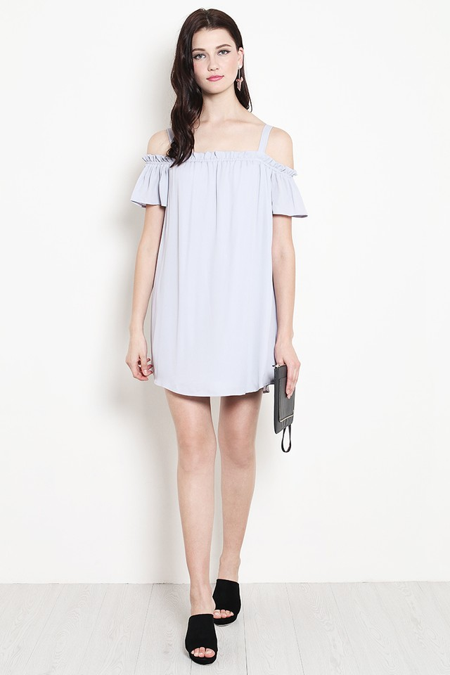 Ruth Dress Grey