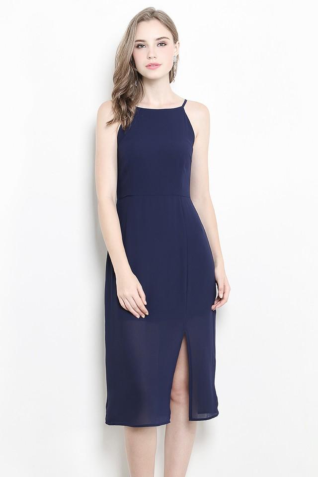 Elana Dress Navy